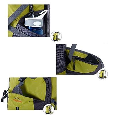 YAAGLE Wasserdicht Bergsteigen Tasche 50 L outdoor Rucksack Gepäck vielfältig Trekkingrucksack Reisetasche Damen und Herren Unisex