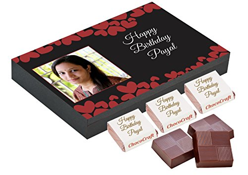 best birthday gift - 12 personalised chocolates in personalised birthday box Best Birthday Gift – 12 personalised chocolates in personalised birthday box 510xf7wPcLL