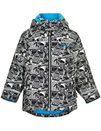 Celavi Skijacke mit Kapuze - Grey Black - Größe: 92