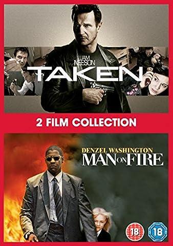 Taken / Man On Fire (2 Dvd) [Edizione: Regno Unito] [Import anglais]