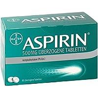 Aspirin 500 mg Tabletten, 80 St. preisvergleich bei billige-tabletten.eu