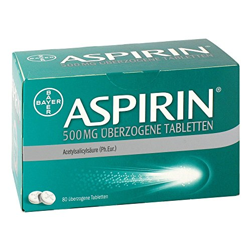 Aspirin 500 mg Tabletten, 80 St.