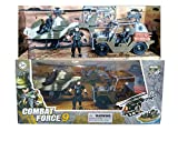 IndusBay® Army Vehicle Toy Set with Military Vehicle Jeep Apache Helicopter and Special