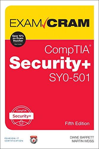 Comptia Security+ Sy0-501 Exam Cram por Diane Barrett