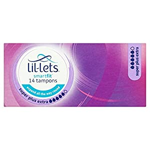 Lil-Lets Smartfit Super Plus Extra Tampons 14 pack