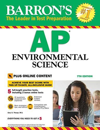 Barron's AP Environmental Science With Bonus Online Tests, 7th edition (English Edition)