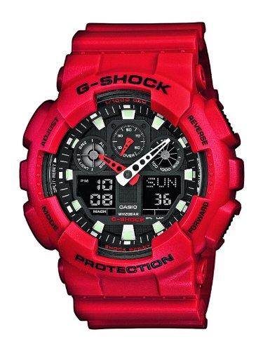 g-shock-mens-ga-100b-4aer-quartz-watch-with-black-dial-analogue-digital-display-and-red-resin-bracel