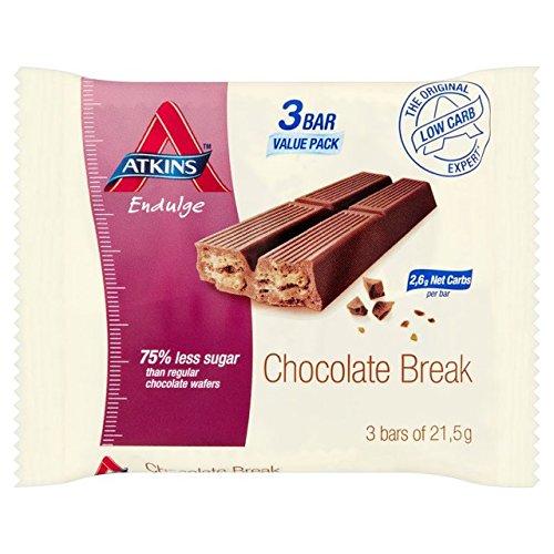 Endulge Schokolade (Atkins Endulge Schokolade Pause 3 x 21g)