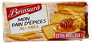 Brossard pain d 39 pices au miel extra moelleux 350 g for Papeterie brossard