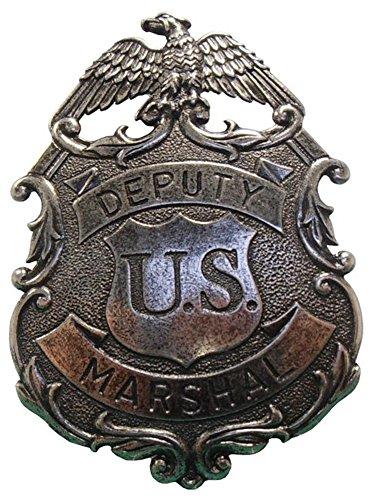 Antik-look-finish (Deko US Deputy Marshal Marke im Antik Finish Look, mit Adlerverzierung)