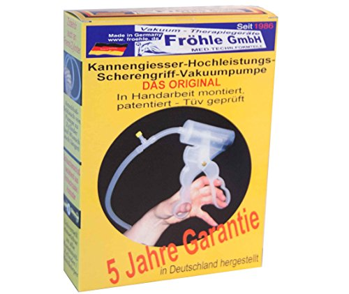 Fröhle ZBF 6051008017 Handpumpe Scherengriff-Handpumpe