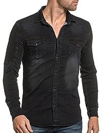 BLZ jeans - Chemise jogg jeans noir
