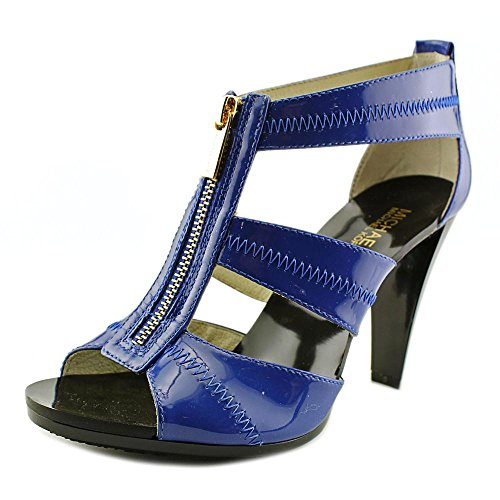 Michael Michael Kors Berkley Cuir verni Sandales Electric Blue