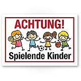 Achtung Spielende Kinder Schild