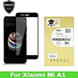 FORTIFY® Xiaomi MI A1 [Edge To Edge] Full Screen Premium Quality Tempered Glass Screen Protector With Installation Kit - BLACK