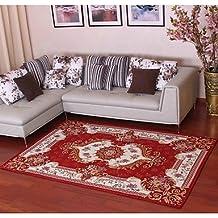 XIIDE Neue Ankunft Europäischen Stil Anti Rutsch Premium Jacquard Teppich  Für Wohnzimmer Rot /