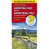 MARCO POLO Kontinentalkarte Argentinien, Chile 1:4 000 000: Bolivien, Paraguay, Uruguay, Falkland (MARCO POLO Kontinental /Länderkarten)