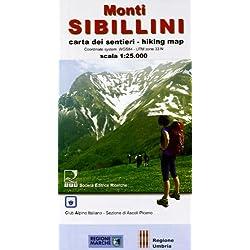 MONTI SIBILLINI - Parco Nazionale dei Monti Sibillini CARTA DEI SENTIERI - Scala 1:25.000