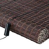LLHYTT Blackout Orizzontale Tende, Tende di bambù Naturale di Sollevamento cieco Romano Appeso ombrellone (Larghezza x Altezza) Juan (Color : B, Size : 130x250cm)
