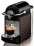 Krups Nespresso Pixie XN3008 Kaffeekapselmaschine, dunkelbraun
