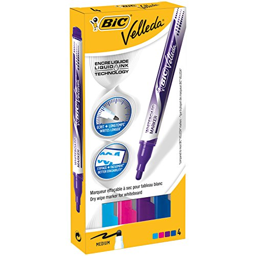 BIC Velleda Pocket rotuladores Punta Ancha - colores
