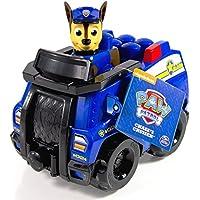 Paw Patrol Ionix Jr. Chase's Cruiser vehículo de juguete - Vehículos de juguete (Multicolor, 1 año(s), Niño, Interior, 1 pieza(s), Bloques de construcción)