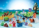 PLAYMOBIL - 1.2.3 9391 Advent Calendar, Christmas in the Forest, For Children Ages 18 Months