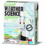 Educational Weather Station Set 4M KidzLabs Weather Science Experiments Great Gifts Ideal for Boys & Girls, Children, Kids Buy for Christmas, Birthday, Stocking Fillers For Ages 8+