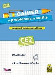 CAHIER PROBLEMES DE MATHS CE2