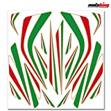 Motoking ITALY Aufkleber SET - 18 Sticker für Auto, Motorrad, Boot und Fahrrad