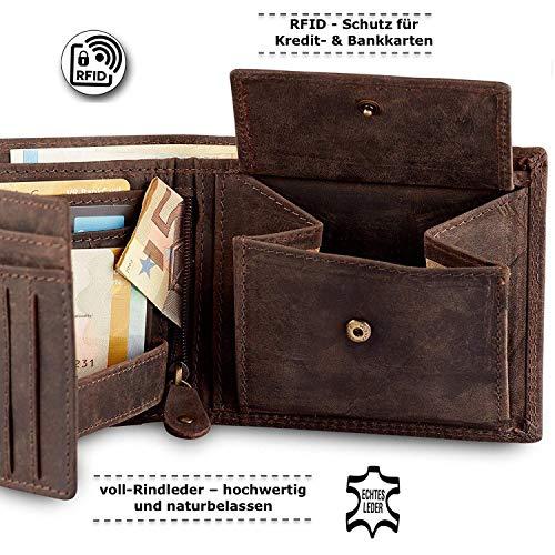 Geldbörse für Herren aus Leder - 5