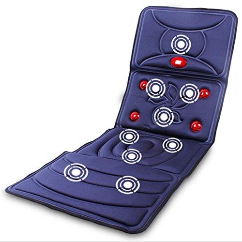 SHISHANG Multi-Funktions-Heizung Massage Matratze Kissen verbesserte Version Stromschlag Körpermassage Decke ältere Gesundheit Massagegeräte Massageauflage faltbar beige Größe 166 * 58 * 3 * Zentimeter , 2