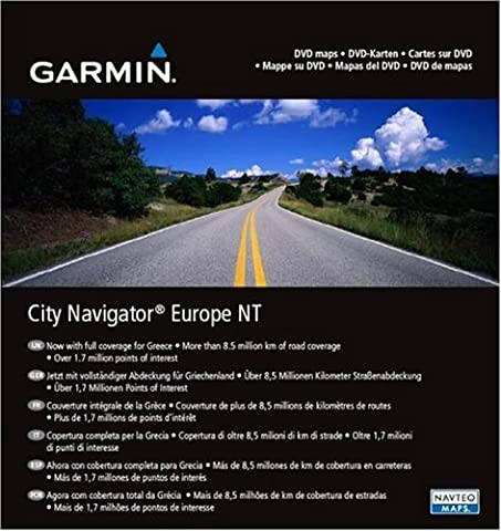 Garmin City Navigator NT Europe sur DVD