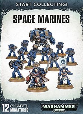 Jeux Atelier 99120101195commencer à collectionner Space marines miniature