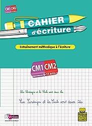 CAHIER D ECRITURE CM