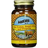 Montana Big Sky, le pollen d'abeille, gelée royale et propolis, 90 capsules