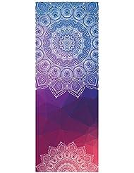 Dicke rutschfeste Yoga Handtücher,rutschfest saugfähig und hitzebeständig DOXUNGO Premium Yogatuch, Yoga Towel