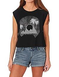 Rip Curl Femme Sunbeam Cropped Thé T-shirt
