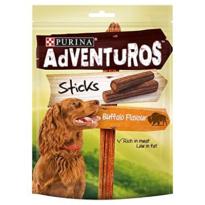 Purina Adventuros Sticks Dog Treats, 120g