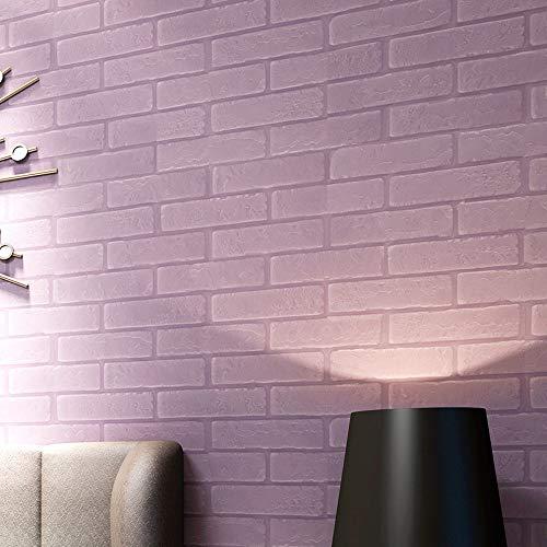 Prevently 3D Ziegel Tapete,PE Schaum Simulation Ziegelstein Wandaufkleber Abnehmbare Simulation Ziegel Wall Sticker 30 * 30 (Colour D)