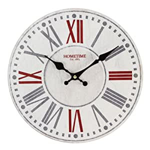 Horloge Murale Moderne Multicolore Flavia - Design Contemporain