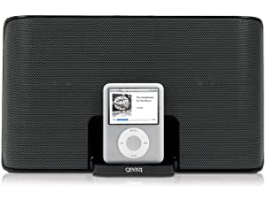 Gear4 StreetParty 3 UK Portable Docking Station Speaker with EU/UK Plug Compatible with Apple 30-pin Devices Including iPhone 3G/3GS/4/4S, iPad 2/3, iPod Nano 5th Generation and iPod Touch 4th Generation - Black