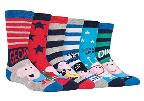 Peppa Pig Mädchen Socken Gr. 23-26, PPB1