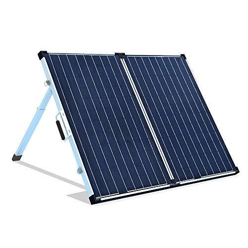 YUANFENGPOWER 120W Solarpanel Kit 12 Volt Solar Ladegerät Faltbares Solarmodul 120W monokristalline Solarzellen für Camping, Caravan, Boot, Wohnmobil, Garten, Dach