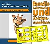Bundle IT- und Prozess-Zeichenschablone & Crashkurs Prozessmodellierung
