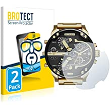 358dfc35abd3 BROTECT Protector Pantalla para Diesel DZ7333 Mr. Daddy 2.0  2 Unidades  -  Transparente