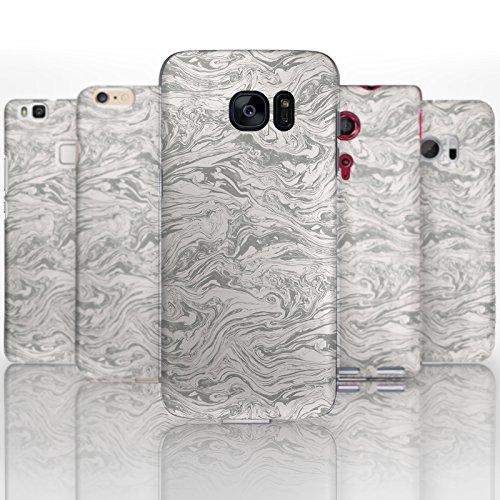 Hairyworm - (BG0041) Grau und Creme wirbelt OnePlus 3, OnePlus 3T halbflexibles Handygehäuse, Abdeckung, Hartplastik Handygehäuse, Handyabdeckung, Handyrückabdeckung, Handyschutz -