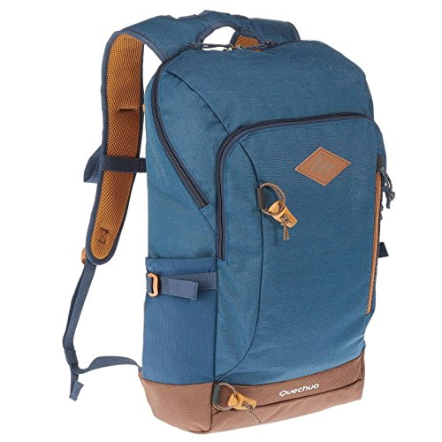 Best decathlon backpack in India 2020 QUECHUA NH500 20-L Hiking Backpack - Blue Image 2