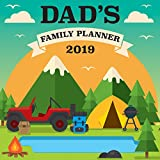 Dad's Family Planner 2019 Wall Calendar