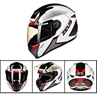 XC Casco para Motocicleta, Ligero, Resistente Al Desgaste, Transpirable, Anti-Vaho